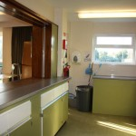 Dengie Hall kitchen area